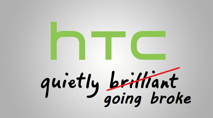 HTC Prefers Chutes Over Ladders: Revenues and Profits Continue to Drop
