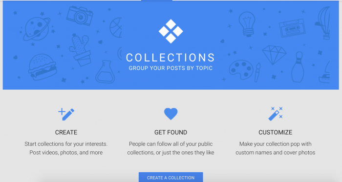 Collections Brings Grouping Posts by Topic to Google+